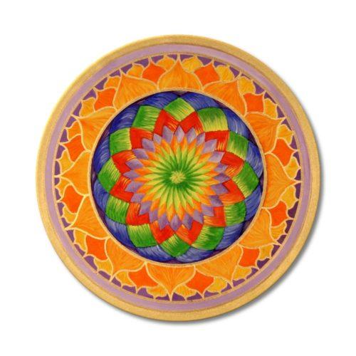 Leinwandbild Mandala Lotus