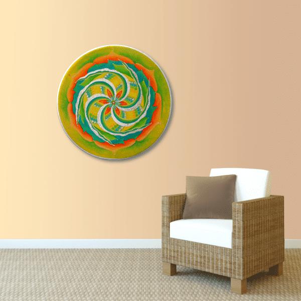 Energie Bild Mandala