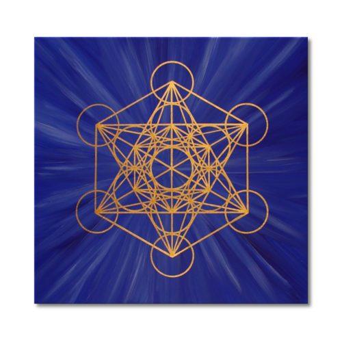 Energiebild Wuerfel des Metatron