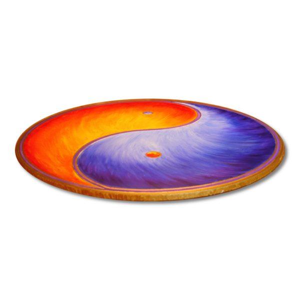 Yin Yang Wandbild kaufen blau rot