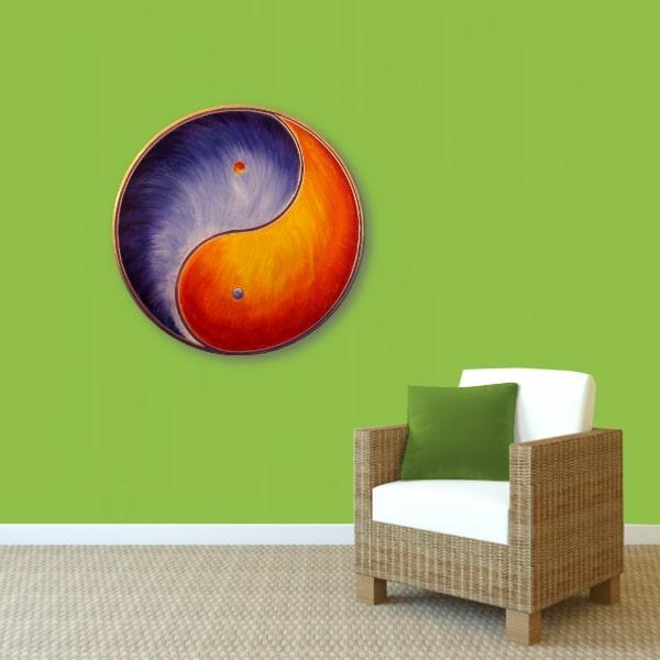 Yin Yang Energie Bild