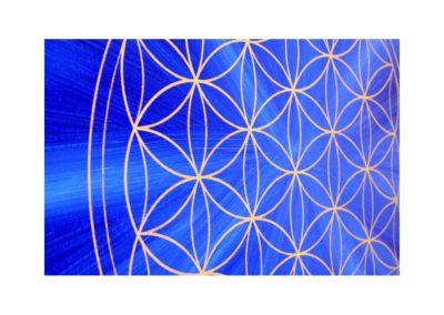 Energiebild Blume des Lebens 32