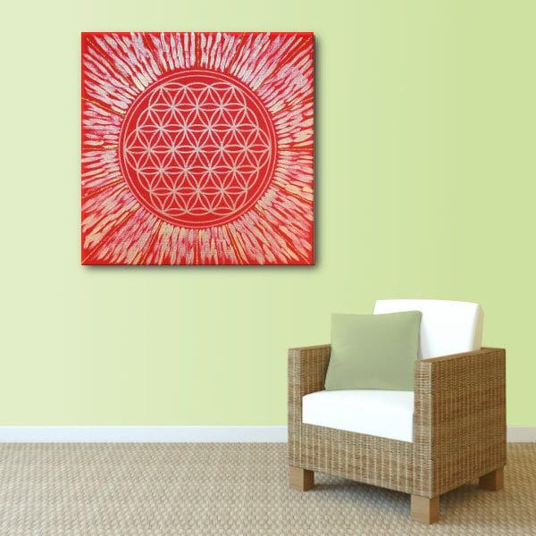 Energiebild Blume des Lebens