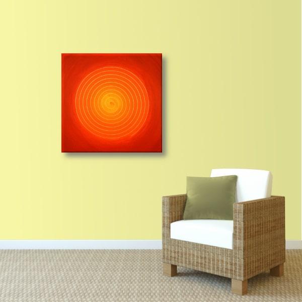 Energie Bild Spirale Kraft der Weiblichkeit