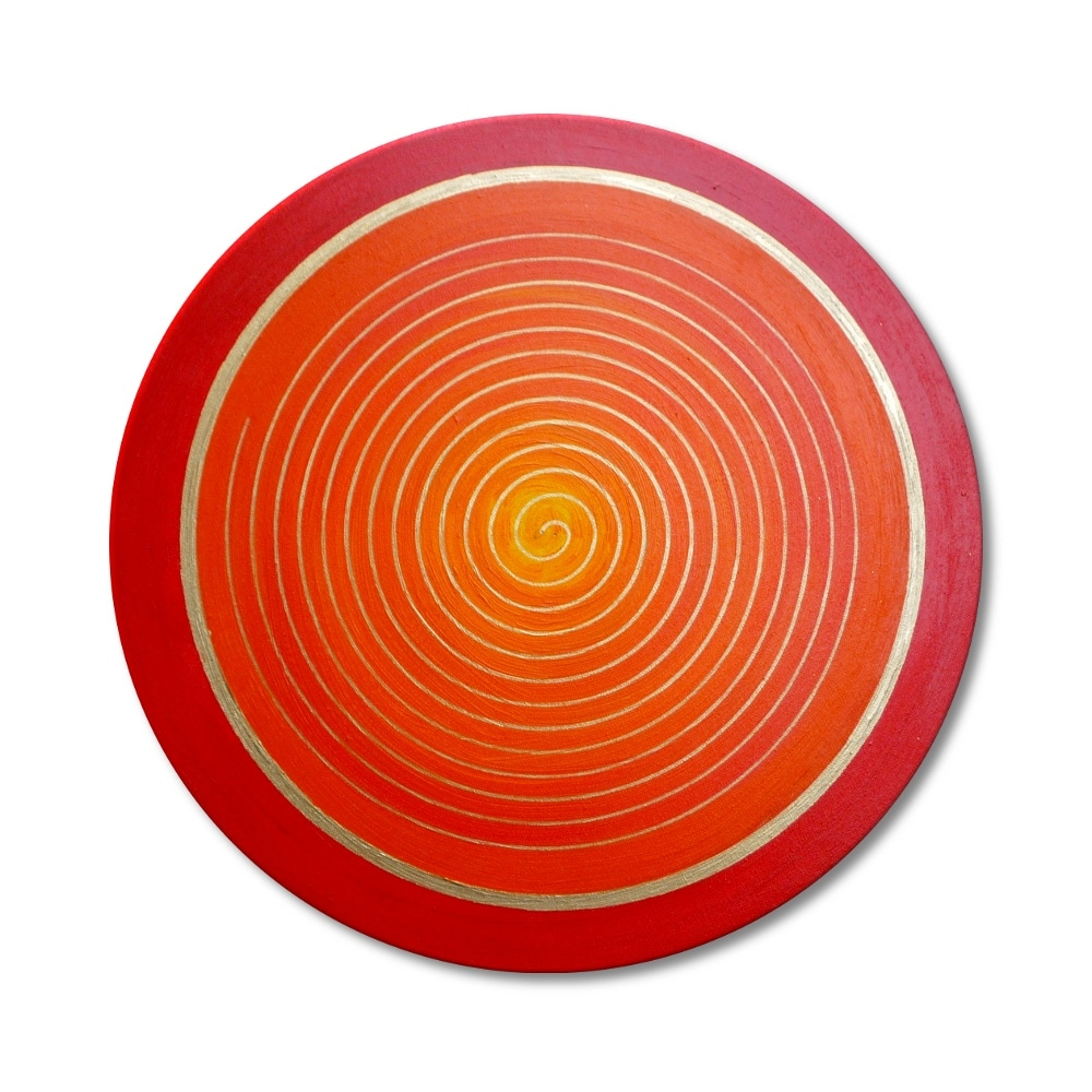 Energiebild Spirale Symbol Kraft der Weiblichkeit 2