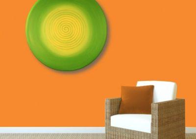 Energiebild Spirale Frühling 2