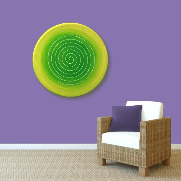 Energiebild Spirale Frühlingserwachen