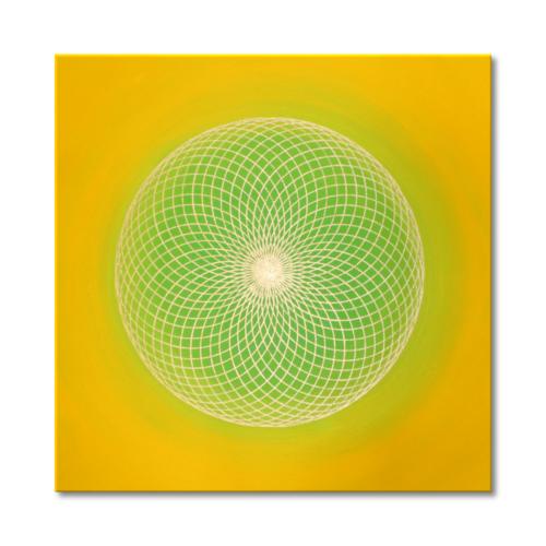 Leinwandbild Torus Sonnengruß