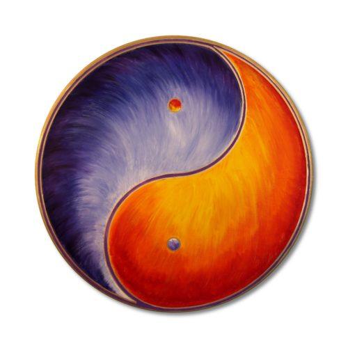 Leinwandbild Yin Yang Balance
