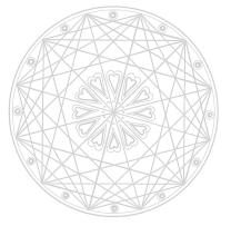 Heilen mit Symbolen Mandala