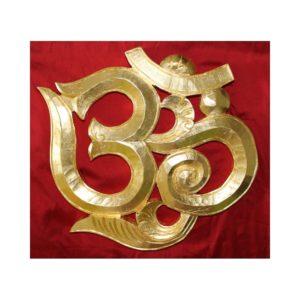 OM Zeichen vergoldet 24 Karat
