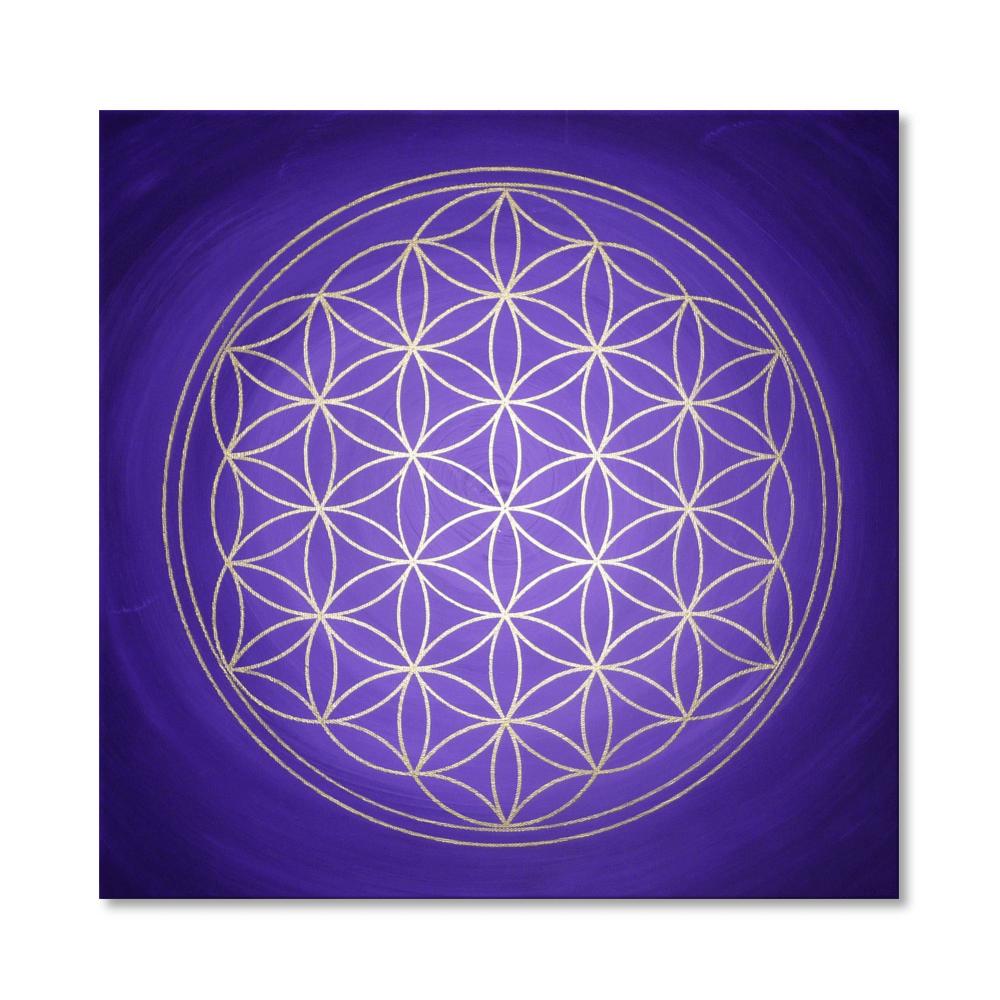 Wandbild Blume des Lebens