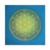 Leinwandbild Blume des Lebens Indian Spirit ab Größe 30cm x 30cm - Energiebild handgemalt