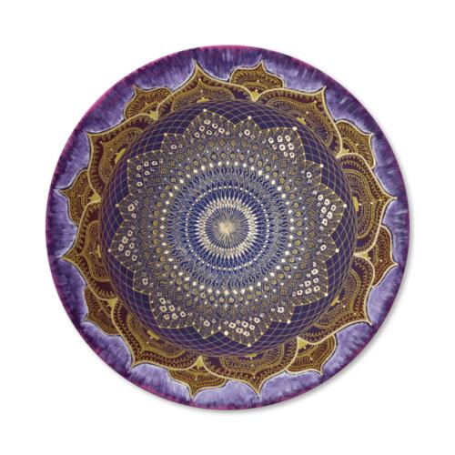 Leinwandbild Mandala Erleuchtung