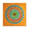 Leinwandbild Mandala Toskana ab Größe 50cm - Energiebild handgemalt