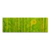 Leinwandbild Yin Yang Bambus ab Größe 30cm x 90cm - Energiebild handgemalt