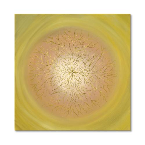 Leinwandbild Mandala Lebensbaum