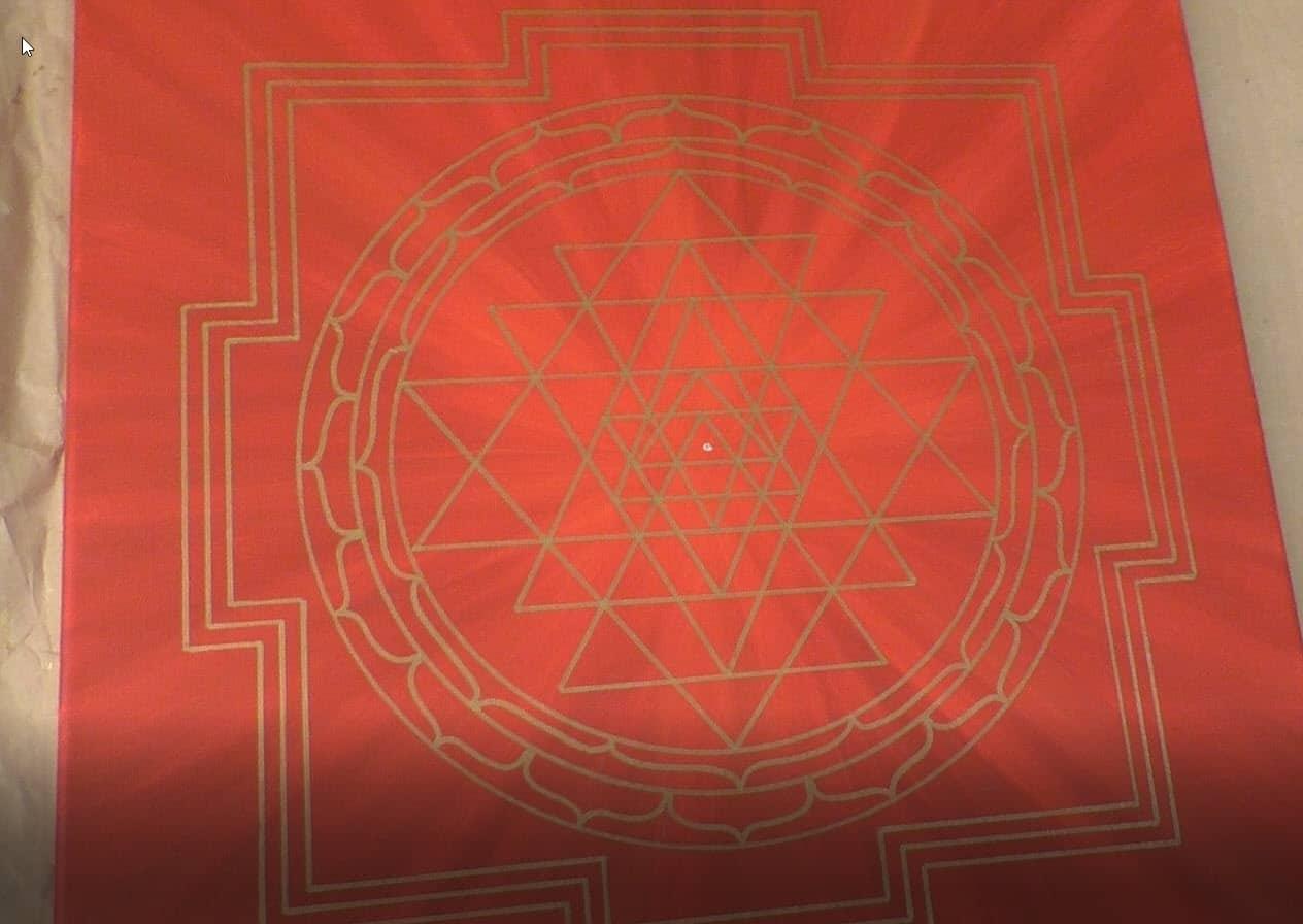Sri Yantra malen_Schritt25
