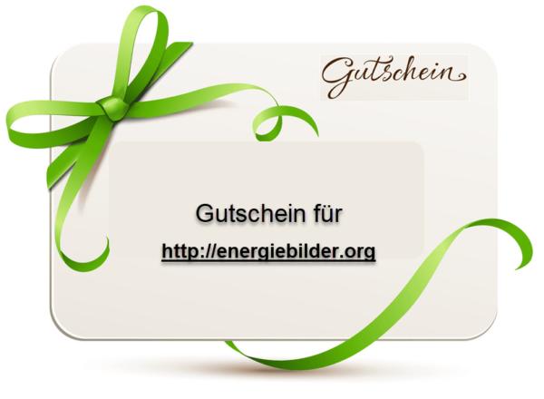 Geschenkgutschein Energiebilder
