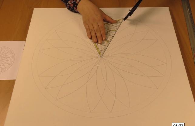 Mandala konstruieren