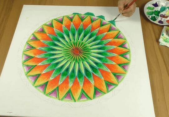 Mandala malen online