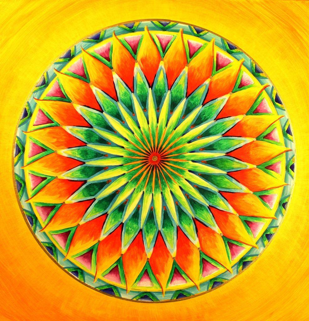 Mandala malen lernen im Online Kurs