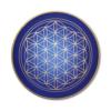 Wandbild Blume des Lebens Gold Evolution der Seele ab Größe 30cm - Energiebild handgemalt