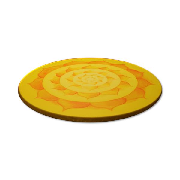 Wandbild Energiebild Lotussonne Mandala Gold_Profilbild