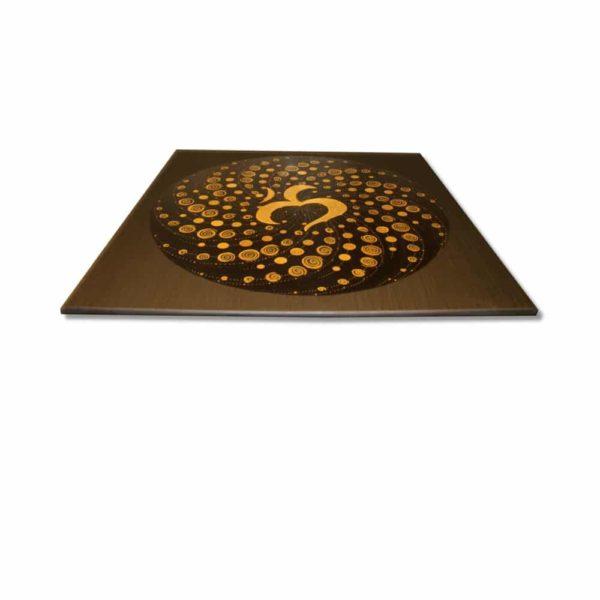 Wandbild Energiebild Mandala Element Luft 24 Karat Blattgold schwarz_Profilbild