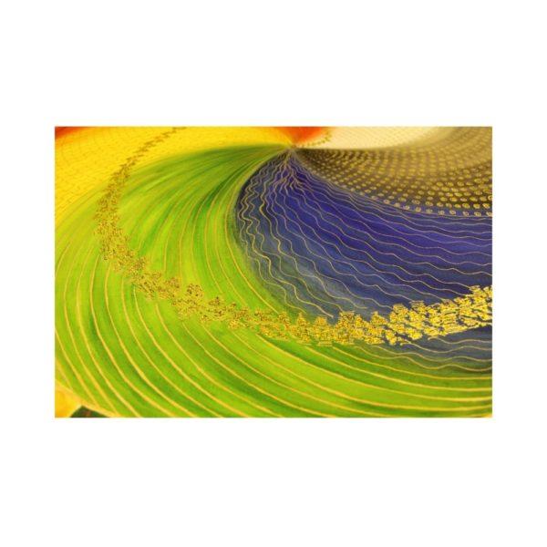 Wandbild Energiebild Mandala Elemente des Lebens_Detailbild