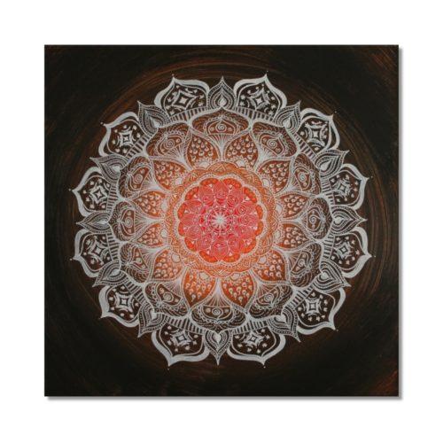 Leinwandbild Mandala Gabe