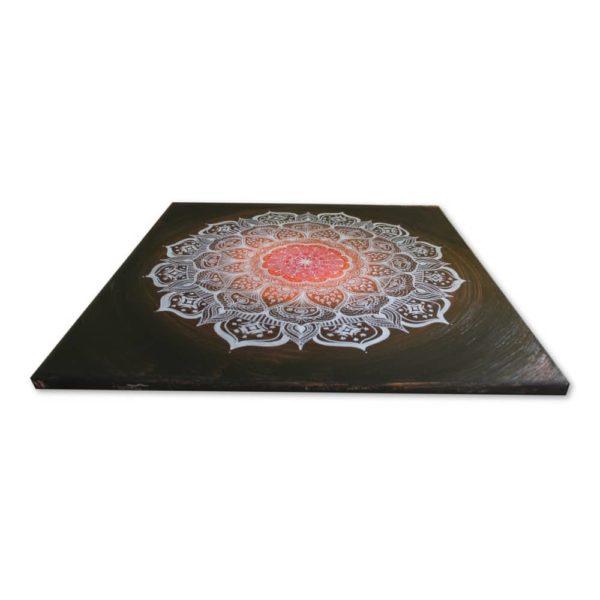 Wandbild Energiebild Mandala Gabe weiß schwarz_Profilbild