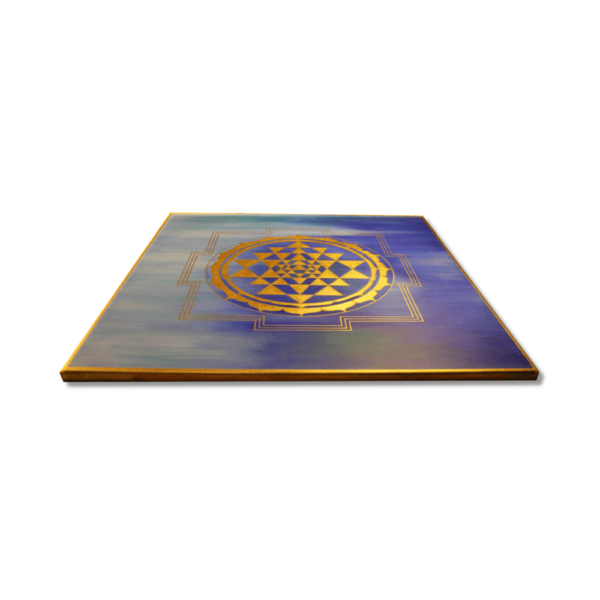 Wandbild Energiebild Sri Yantra Yantra in gold_Profilbild