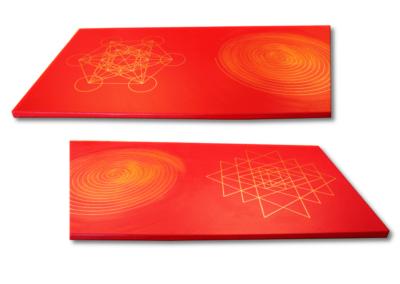 Wandbild Energiebild Weisheit und Wohlstand Sri Yantra Gold Spirale_Profilbild