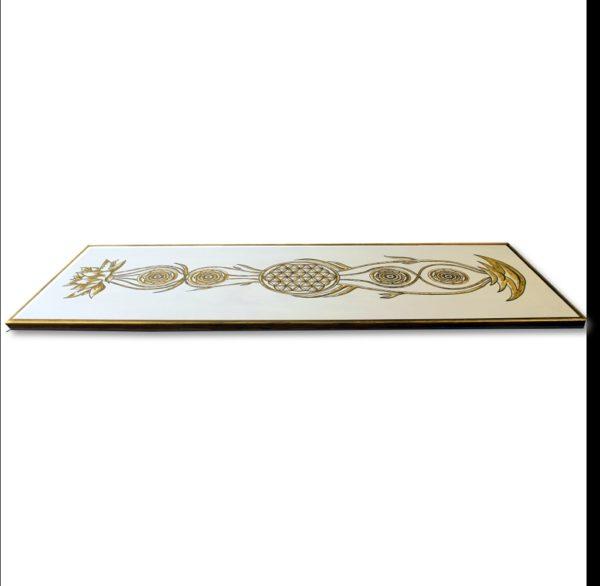 Wandbild Kundalini Gold Blume des Lebens_Frontalbild_Profilbild