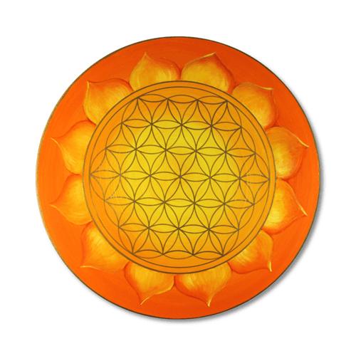 Leinwandbild Blume des Lebens Sonnenblume_60cm