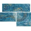 Leinwandbild Spirale Kraft des Wassers_80x190cm