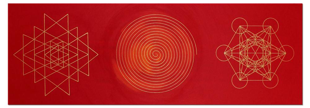 Leinwandbild Weisheit&Wohlstand_50x150cm_große Version