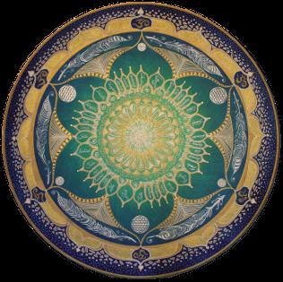 Der heilende Aspekt von Mandala Bilder'n