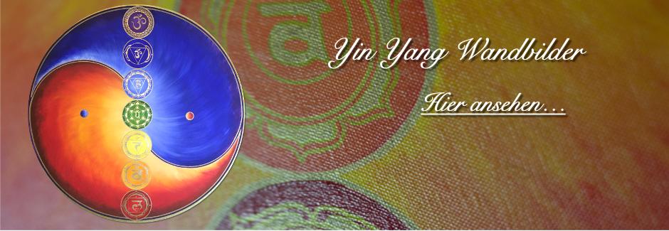 Ying Yang Wandbilder