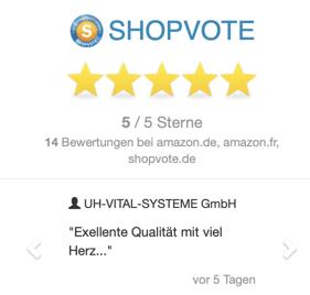 Shopvote Bewertungen