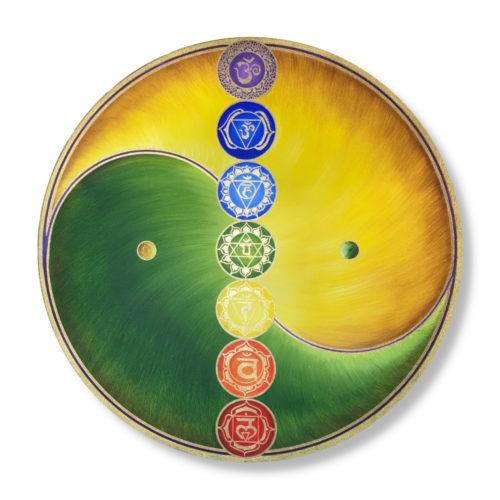 Leinwandbild Yin Yang Harmonie im Ganzen 2_Frontalbild